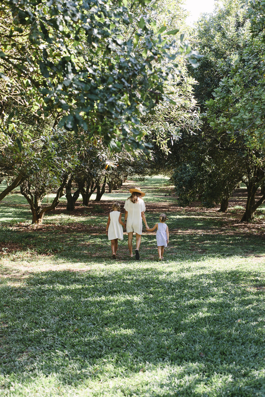nature, family, and garden image