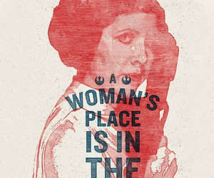 Princess Leia, resistance, and women's march image