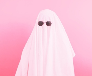 pink, ghost, and grunge image