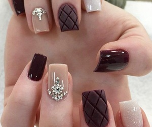 cream, perfect, and nails image