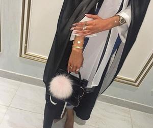 accessories, hijab, and abaya image