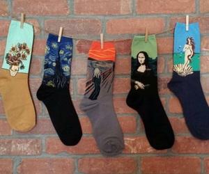 art and socks image