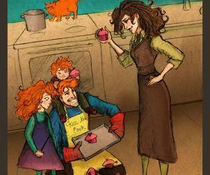 harry potter, fanart, and hermione granger image