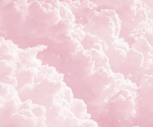 pink, pink sky, and pink clouds image