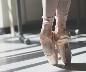 ballet, ballet shoes, and pointe image