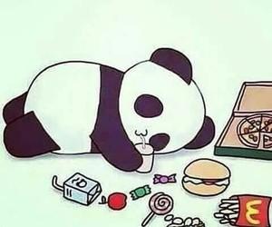 panda, food, and kawaii image