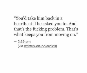 quotes, heartbreak, and love image
