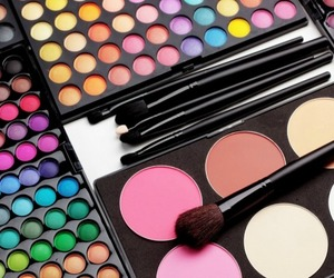 cosmetics, fashion, and makeup image