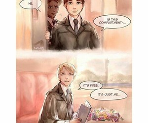 harry potter, scorpius malfoy, and albus potter image