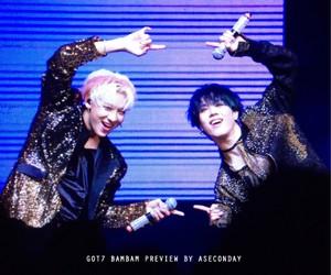 k-pop, bambam, and got7 image