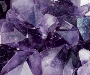 background, crystal, and purple image