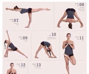 funny, yoga, and lol image
