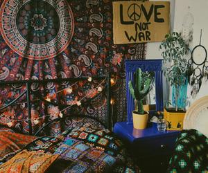 boho, room, and tumblr image