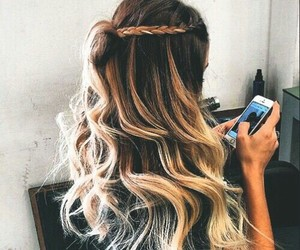 blond, girl, and hairstyles image