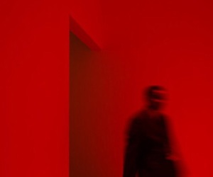 blur and red image