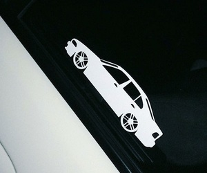 bmw, sticker, and white image