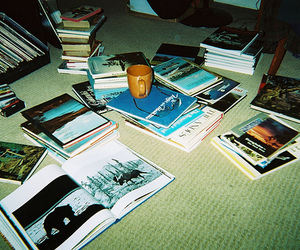book, indie, and hipster image