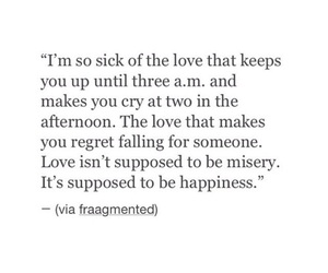 cry, ex boyfriend, and quote image