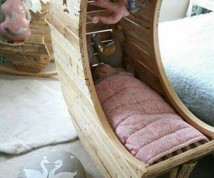 baby, diy, and bed image