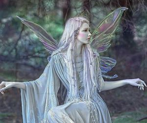 fairy, aesthetic, and beautiful image