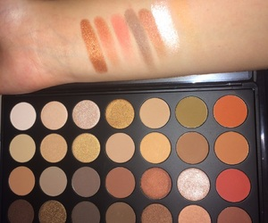 swatches, morphe, and warm shades image