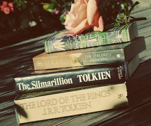 book, tolkien, and the lord of the rings image