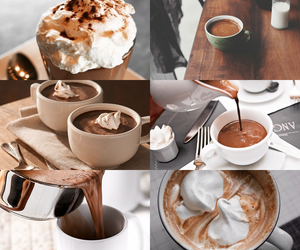 chocolate, coffee, and drink image