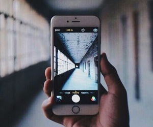 iphone, photography, and grunge image