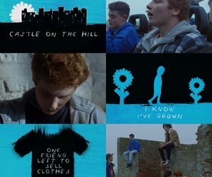 ed sheeran and castle on the hill image
