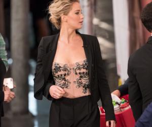 Jennifer Lawrence, beauty, and passengers image