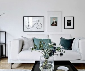 cool, living room, and simple image