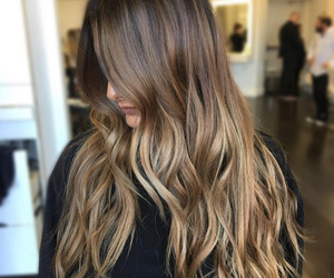 girl, hair style, and highlights image