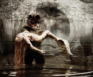 mermaid and love image