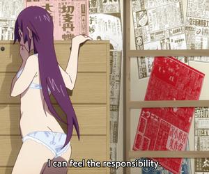 anime, monogatari series, and monogatari image