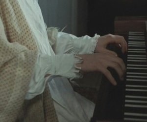 becoming jane, movie, and piano image