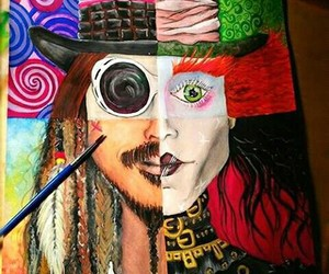 artist, hollywood, and johnny depp image