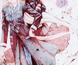 anime, noragami, and bishamon image