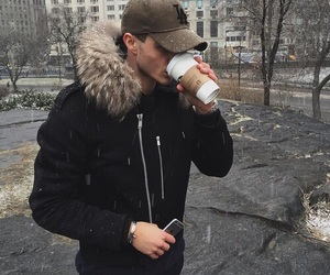 boy, guy, and winter image