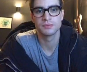 brendon urie, cutie, and panic at the disco image