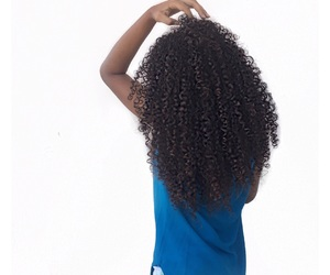 Caribbean, curly, and curly hair image
