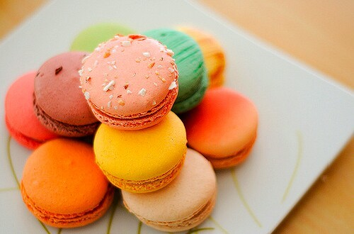 dessert, food, and macaroons image