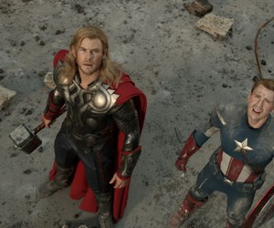 thor, captain america, and the avengers image