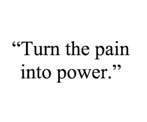 pain and quote image