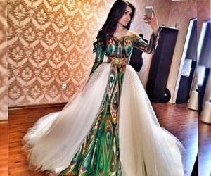 dress, gorgeous, and wedding image