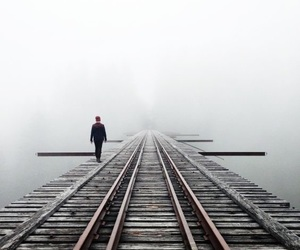 train, travel, and washington image