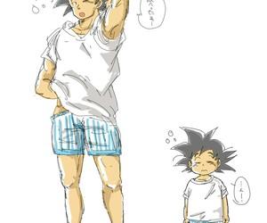 anime, dragon ball z, and son goku image