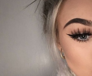 alternative, clothes, and eyebrows image