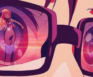 anime, fanart, and kaori miyazono image