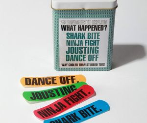 bandage, funny, and awesome image