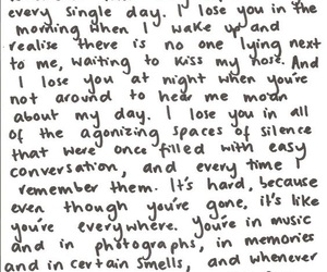 heartbreak, quote, and i miss you image
